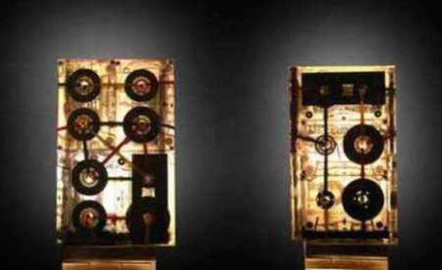 Lampara casera con cassetes guia de elaboracion