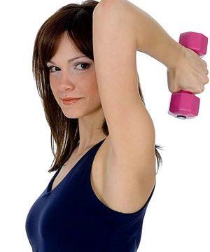 Pechos firmes con rutina de ejercicios sencillos